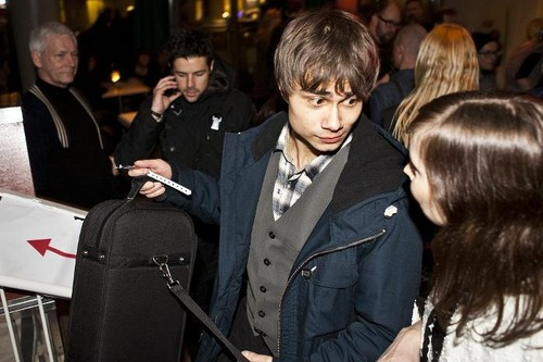 Alex & Didrik at the Norwegian MGP (ESC) Semi-final in Larvik 28/01/12 - alexander-rybak Photo