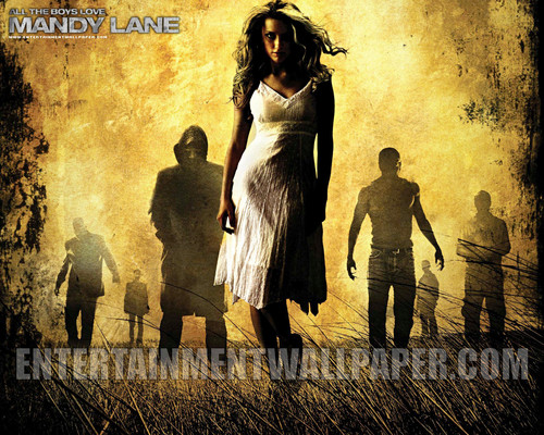 film horror wallpaper with a jalan, street entitled All The Boys cinta Mandy Lane