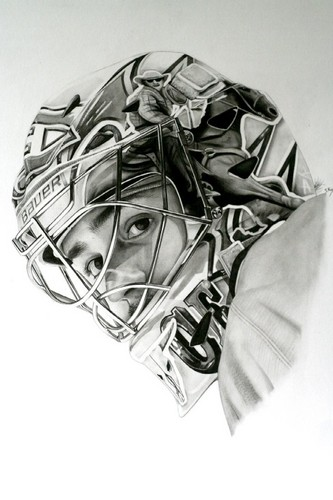 Amazing Carey Price Portrait