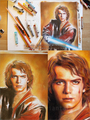 Anakin on the artist's desk - the-anakin-skywalker-fangirl-fanclub fan art