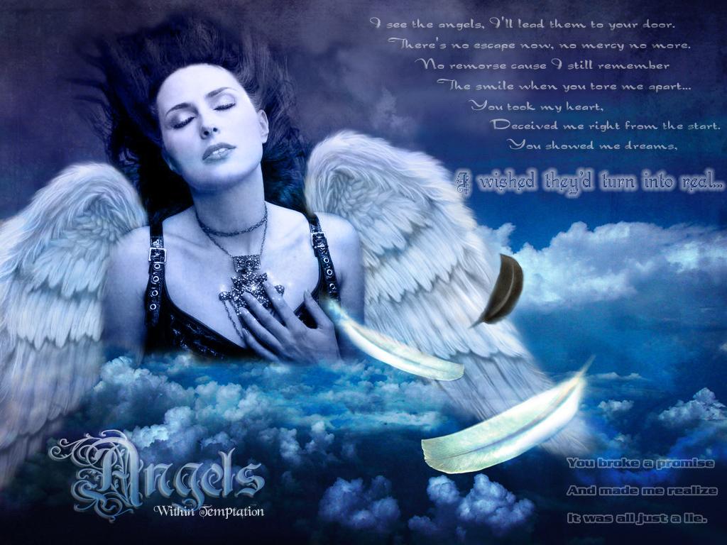 Скачать песню angels within temptation