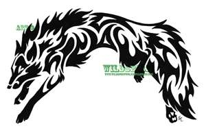 Wolf Tattoos Tribal Fox