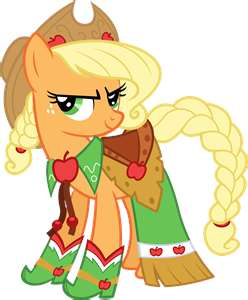 Applejack's Gala Dress