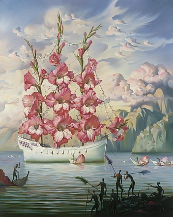Arrival Of The fleur Ship