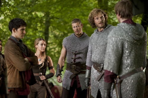 Arthur, Merlin, Leon, Percival & Isolde