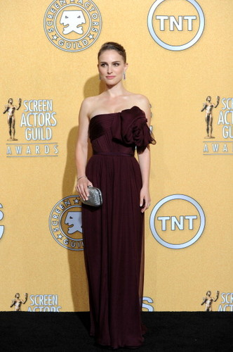Attending the 18th Annual Screen Actors Guild Awards held at the Shrine Auditorium in Los Angeles (J