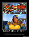 Bad Box Art Mega Man in Street Fighter X Tekken - video-games photo