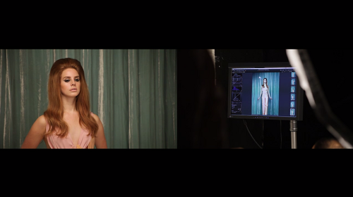 Behind The Scenes (Interview Magazine Photoshoot: Lana Del Rey)