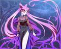 Black Lady :) - anime fan art