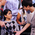 Michael Jackson's son Blanket Jackson (Mini MJ) refused to shake Bieber's hand 哈哈 cute <3