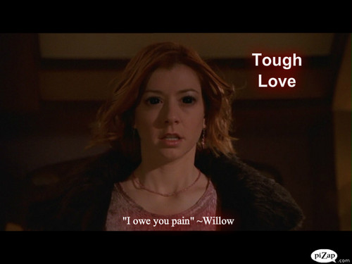 "Buffy episode 壁紙 #2 ""Tough Love"" WILLOW SPECIAL"