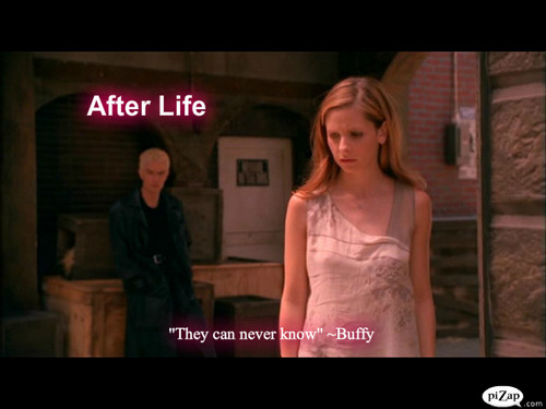 "Buffy episode fond d'écran #5 ""After Life"""