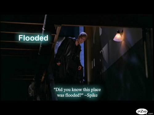 "Buffy episode fond d'écran #6 ""Flooded"" SPIKE SPECIAL"