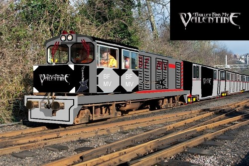 Bullet For My Valentine Train