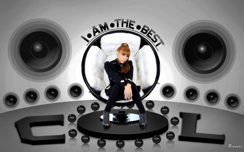 2NE1 wallpaper containing a turntable titled CL