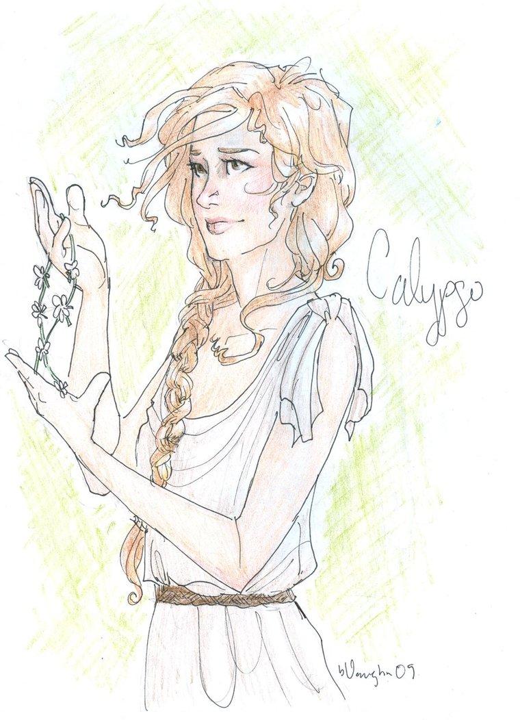 Calypso Drawing Percy Jackson