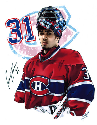 Carey Price fan Art