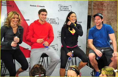 Chace at Reebok's The Sport Of Fitness