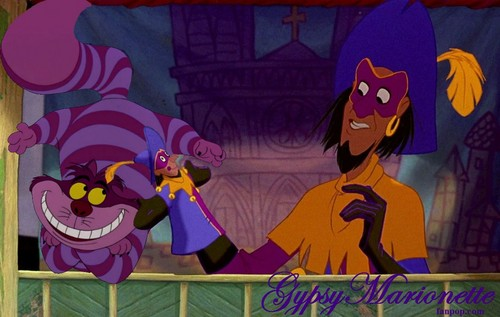 Cheshire Cat and Clopin