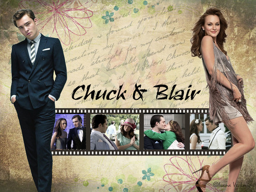 Chuck &amp; Blair - blair-and-chuck Wallpaper