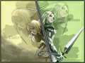 Clare & Teresa - claymore-anime-and-manga wallpaper
