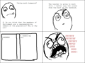 Copying? - rage-comics photo