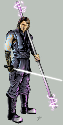 anakin skywalker wallpaper possibly with a vacuum entitled Could anda imagine?