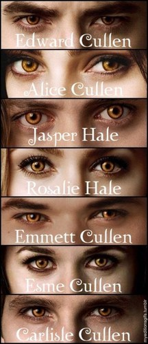 Cullens' eyes