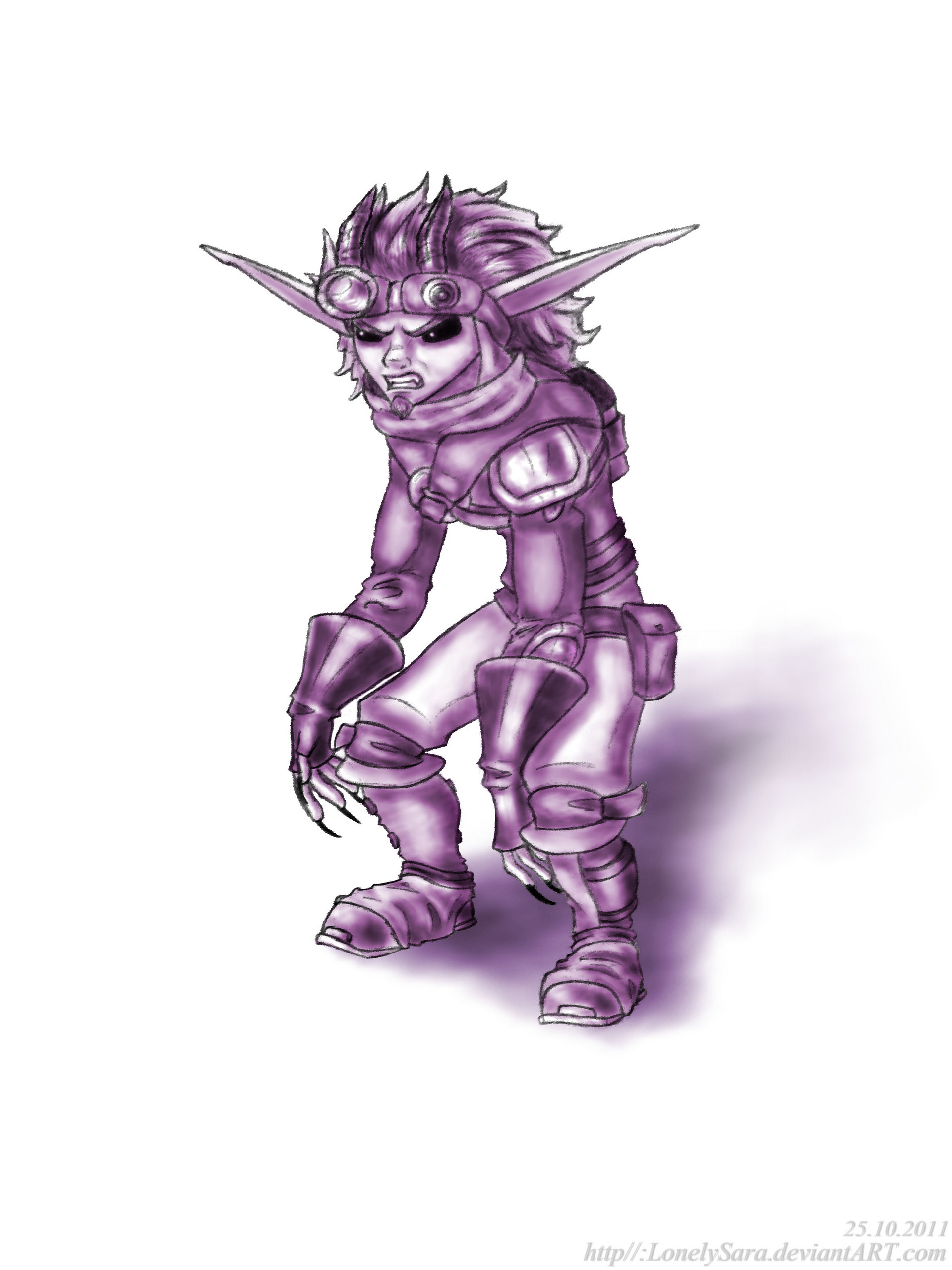 Jak And Daxter Images Dark Jak Pose Hd Wallpaper And Background Photos