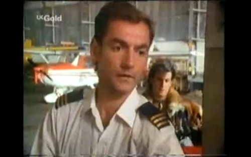 FlyingDoctorsbigfan3 / Flying Doctors wallpaper probably containing a portrait titled David Gibson From Season 1