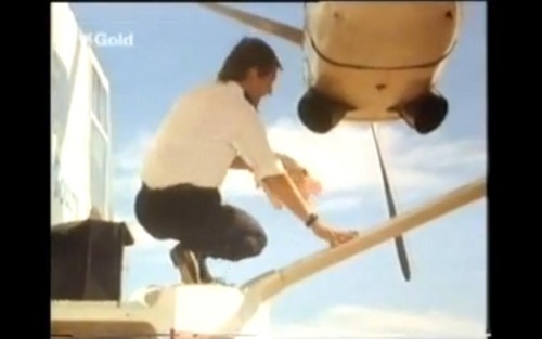 FlyingDoctorsbigfan3 / Flying Doctors wallpaper probably with a vaulter called David Gibson From Season 1