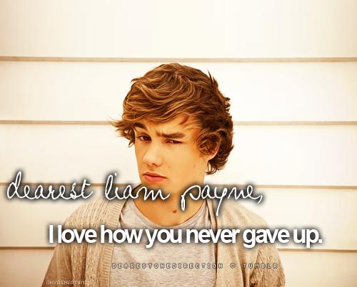 Dearest Liam Payne