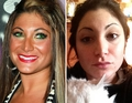 Deena without make-up