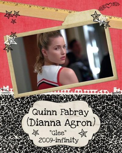 Dianna Agron as Quinn Fabray