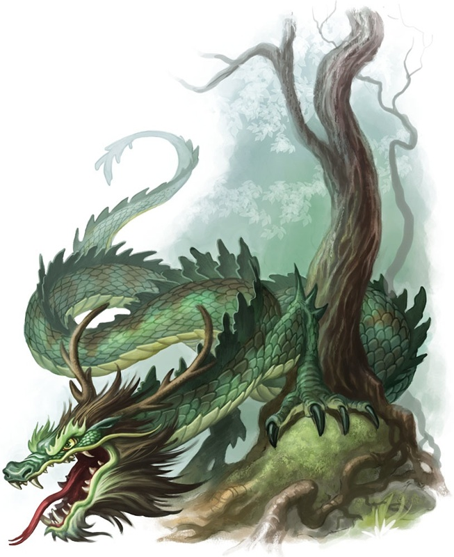 Mythological Dragons: Mythical Creatures Photo (28604892)