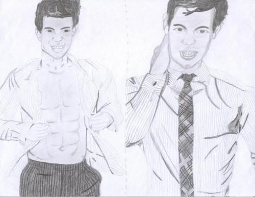 Drawing of Taylor da me