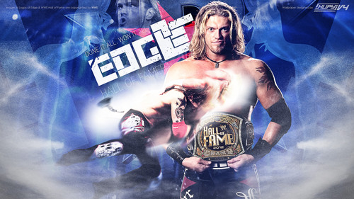 WWE wallpaper entitled Edge-Hall of Fame