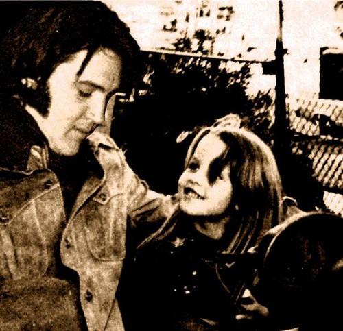 Elvis and Lisa