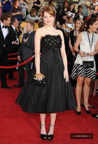 Emma Stone @ 18th Annual Screen Actors Guild Awards fotografias – Jan 29th