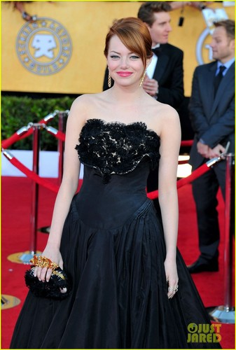 Emma Stone - SAG Awards 2012 Red Carpet