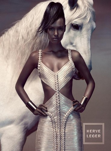 Fatima Siad for Herve Leger