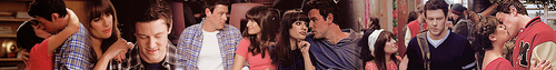 Finn and Rachel- Season 3 Banners