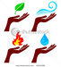 Four Elements at Hand - the-four-elements icon