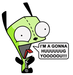 GIR wants to huuuug yoooou - gir icon