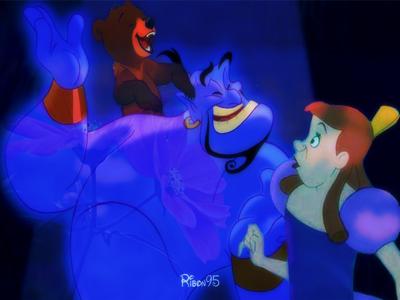 Genie, Koda and Anastasia