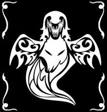 Ghost Fang's Mark (Tribal Wolf/Ghost)