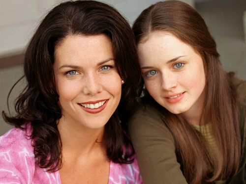 Gilmore Girls fond d'écran containing a portrait entitled Gilmore Girls