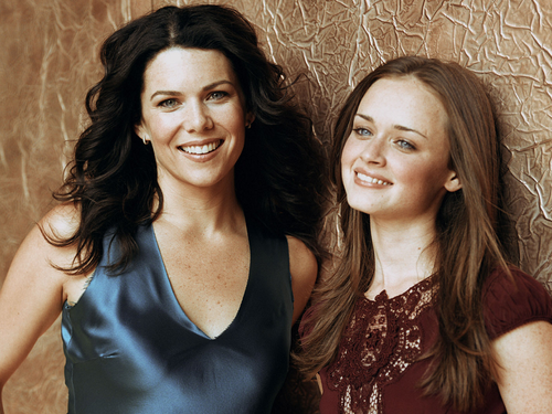 Gilmore Girls fond d'écran with a portrait titled Gilmore Girls
