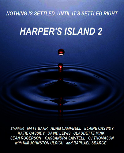 Harper's Island wallpaper probably containing a sign called HI Season 2 Fanfic Poster