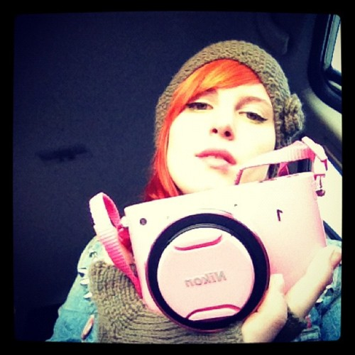 Hayley and her 23rd b-day present